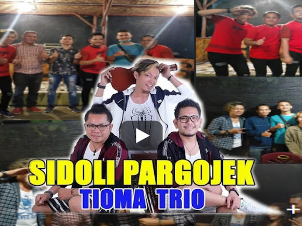 """Tioma Trio """"Si Doli Pargojek"""" Gebrak Jegges Cafe Resto di Siantar, Ini Videonya"""