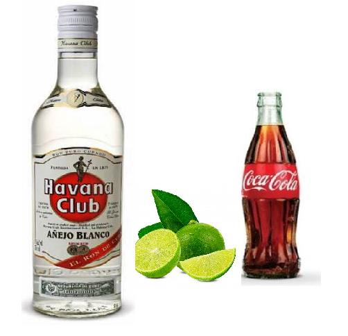 COCTEL CUBA LIBRE ING.