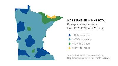 minnesota rain precipitation rainfall