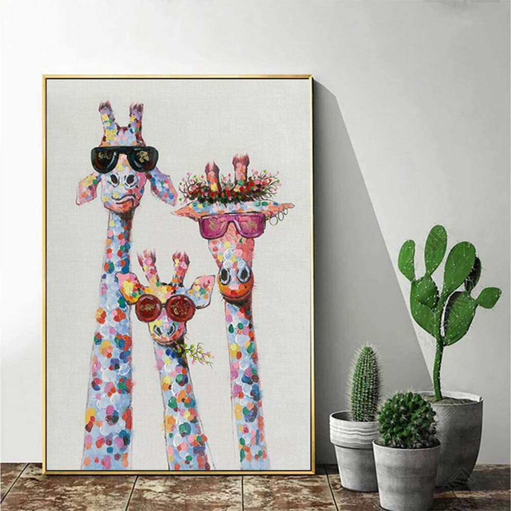 Giraffe Diamond Painting