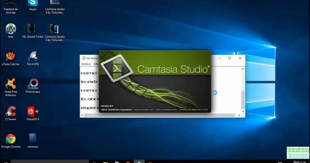 camtasia studio descargar gratis windows 7