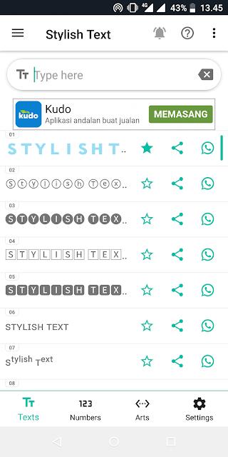 Cara Merubah Tulisan di Whatsapp Menjadi Keren