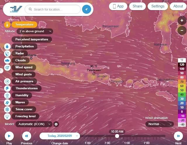 8 situs prakiraan cuaca paling akurat-8