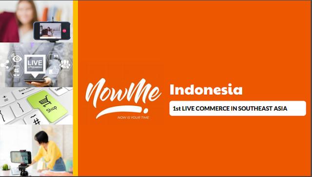 NOWME Live Commerce Pertama & Terbaik di Asia Tenggara Menyambangi Indonesia