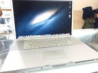 """MacBook Pro 2008 Core2 Duo 2.4GHz 17"""" HDD 160GB RAM 4GB Kode MacBook 02"""
