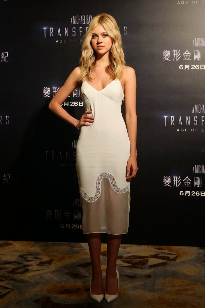 Nicola Peltz wears Stella McCartney Dress – 'Transformers: Age of Extinction' Hong Kong Photocall