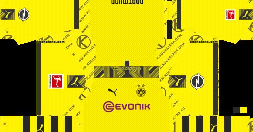 Borussia Dortmund 2019 2020 Kit Dream League Soccer Kits Kuchalana