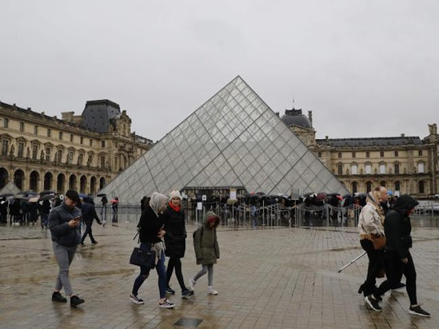 Close the most crowded museum in the world