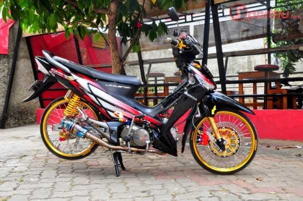 Gambar Modifikasi Motor Supra X 125 Deqwan1 Blog