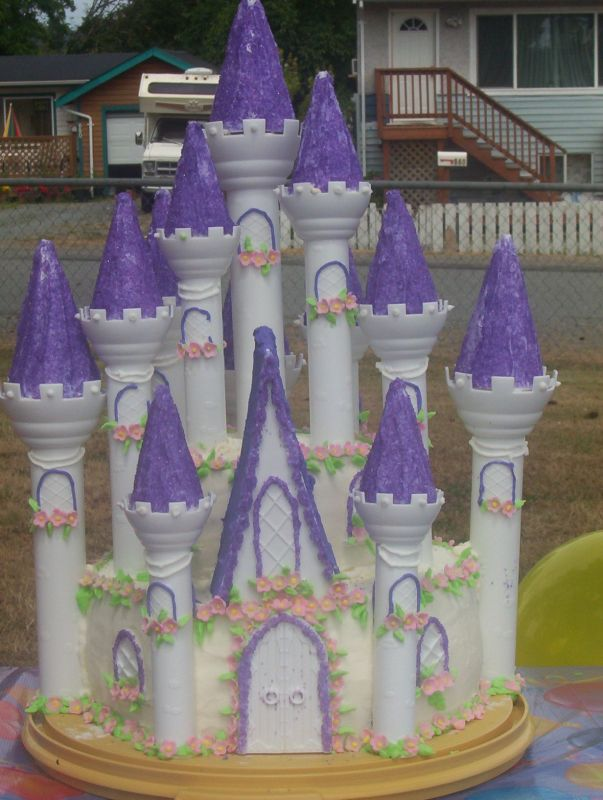 Castle Cakes Birthday Party Ideas