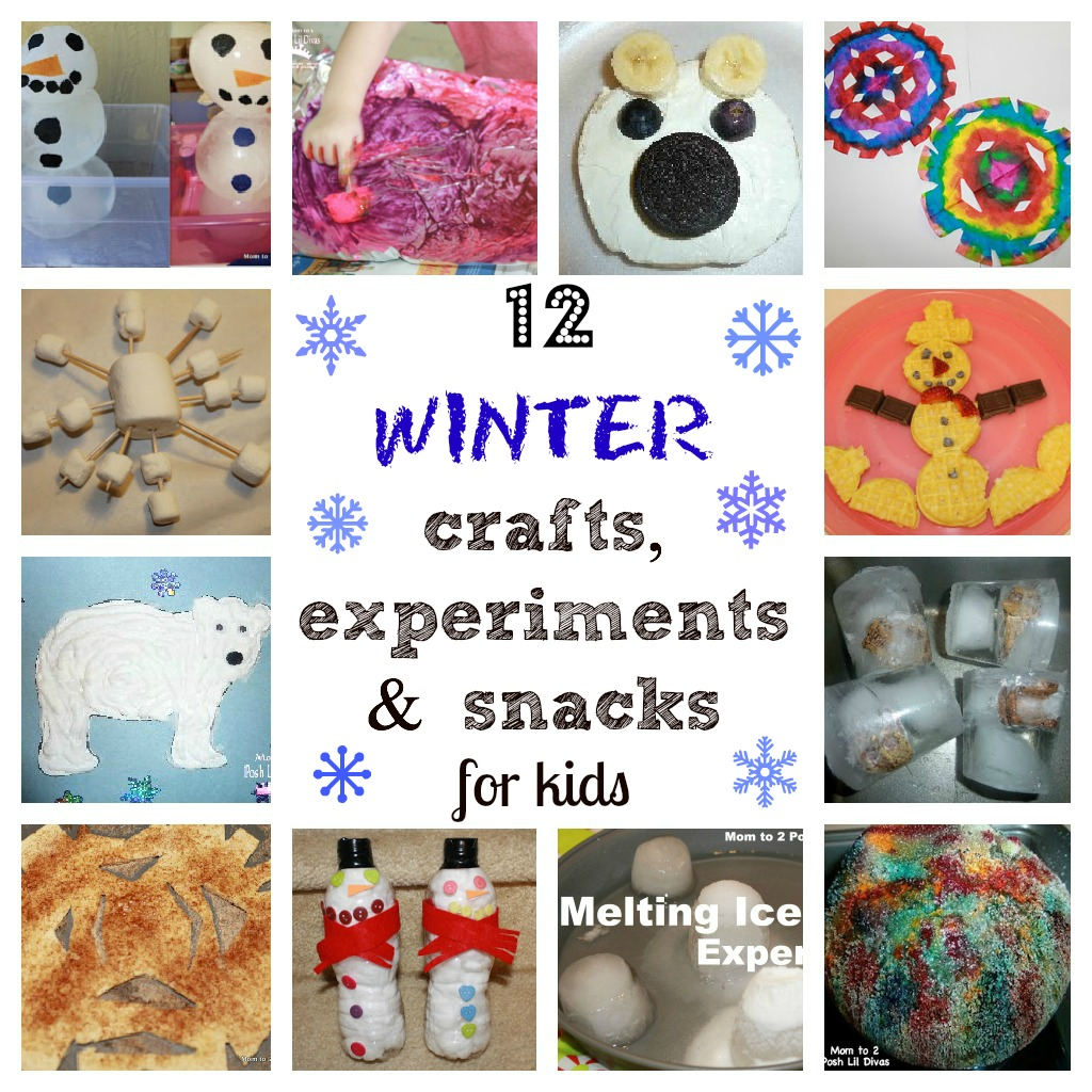 Winter Activities Crafts Amp Experiments For Kids