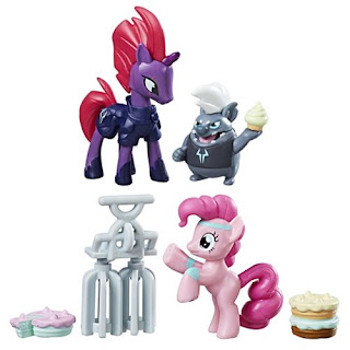 MLP The Movie FiM Collection Tempest Shadow, Grubber, Pinkie Pie