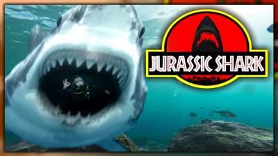 Jurassic Shark (2012) Hindi Dubbed Dual Audio 480p