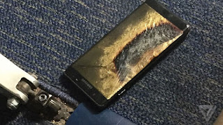 Plane evacuated after Galaxy Note 7 emitted Smoke | Andhra news daily