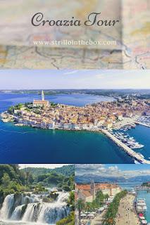 Croazia+itinerario+città+spiagge