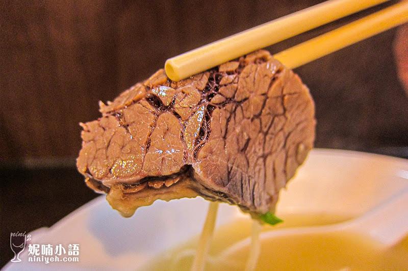 【台北中山區】史記正宗牛肉麵。清燉湯頭顛覆感官