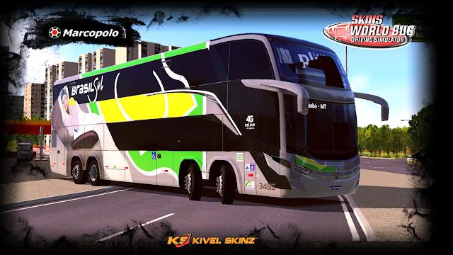 G7 1800 DD 8X2 - VIAÇÃO BRASIL SUL (STYLO G8)
