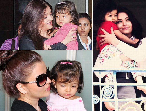 Cute pictures of Aishwarya Rai Daughter