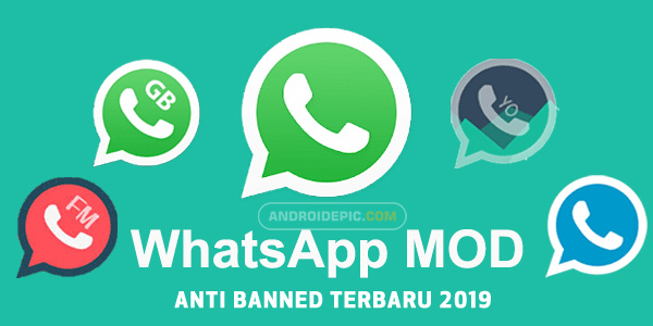 Download Whatsapp Mod Paling Aman Anti Banned Terbaru 2019