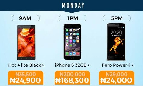 Jumia Mobile Week Day1 - Get Infinix Hot Lite For Just N24,000