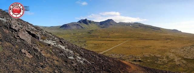 Cima de Saxhóll, Snæfellsnes, Islandia