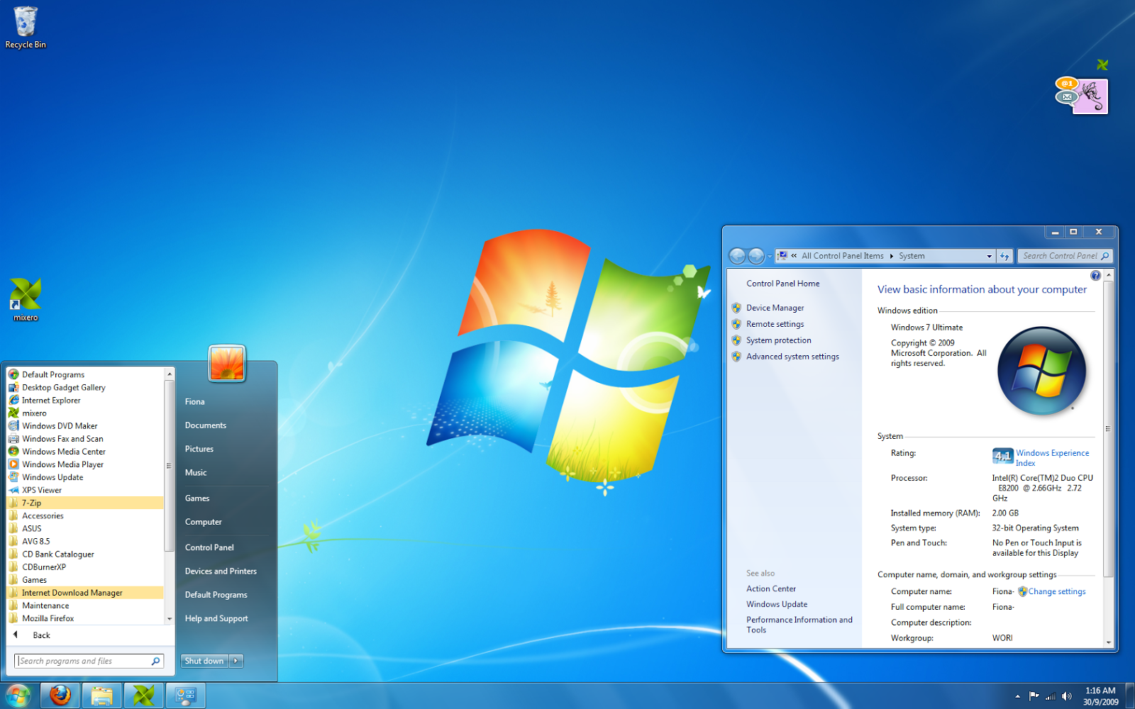 Windows 7 Ultimate Free Download 32\64-bit IOS Official
