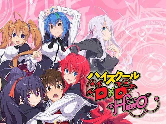 high school dxd anime