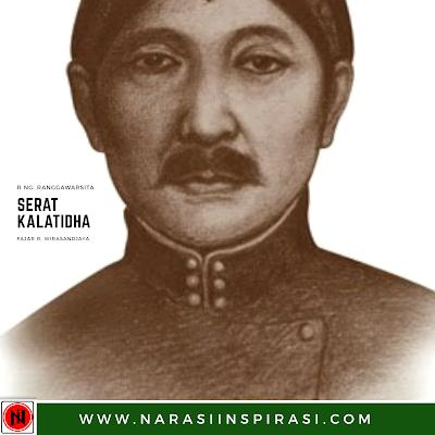 Raden Ngabehi Ranggawarsita Serat Kalatidha dan Zaman Edan
