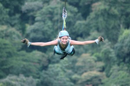 Costa Rica- Monteverde, Extremo Park