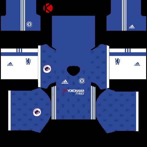 Chelsea Kits 2016/2017 | Dream League Soccer 2015