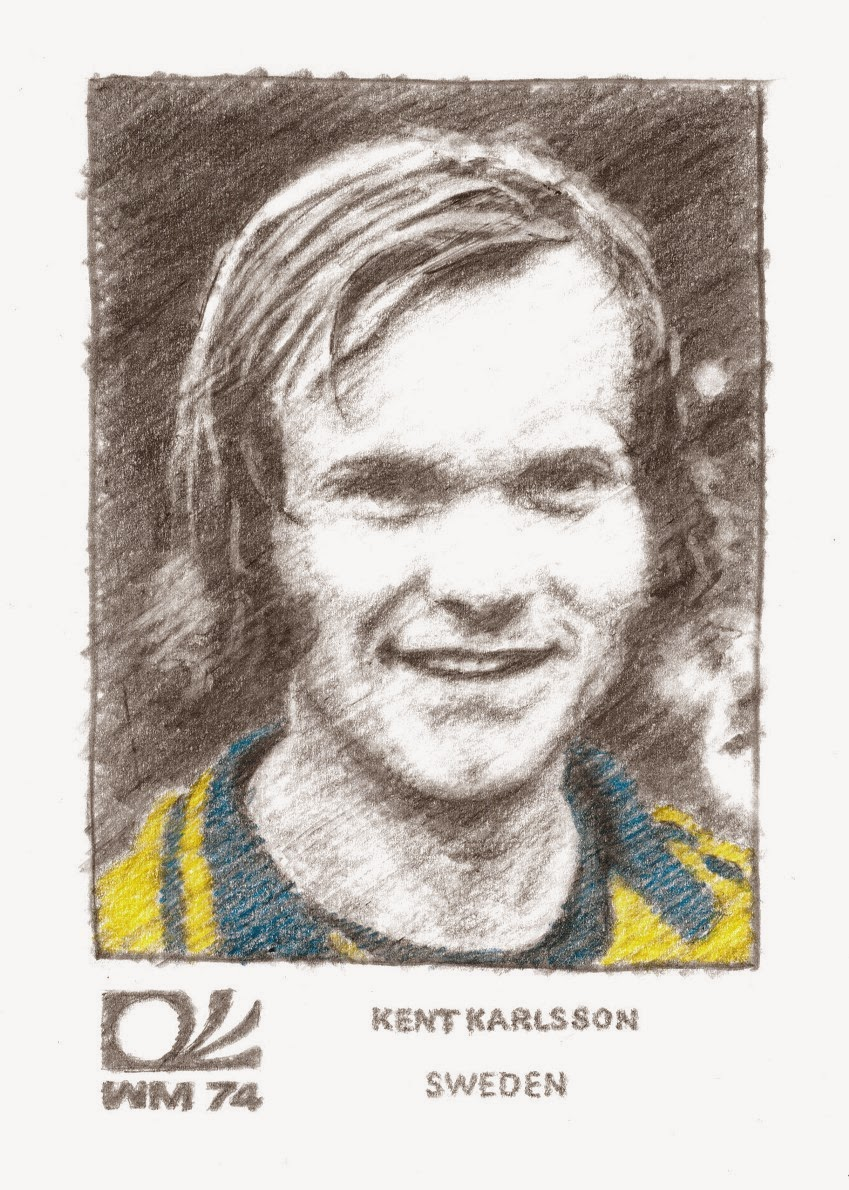 The Opposite of Tomato: World Cup '74 Portrait #8 (Kent