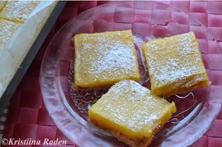 Lemon-orange squares