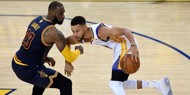 Warriors Menangi Gim Kesatu Final NBA updetails.com