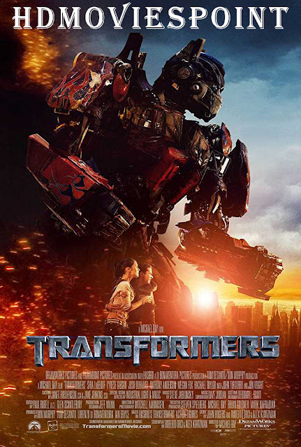 Poster Transformers 2007 Full Hindi Movie Download Dual Audio 720p Blu-Ray