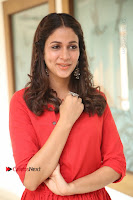 Actress Lavanya Tripathi Latest Pos in Red Dress at Radha Movie Success Meet .COM 0114.JPG