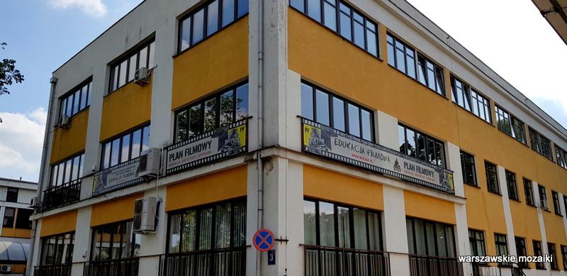 WFDiF Warszawa Warsaw wytwórnia filmów dokumentalnych i fabularnych Mokotów wytwórnia filmowa dokument plan filmowy