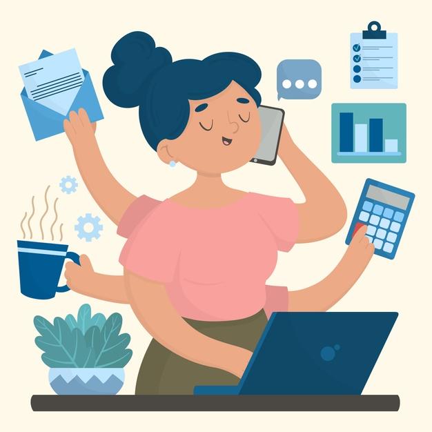 ¿Es una ventaja realizar varias tareas al tiempo?