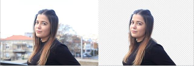 immagine del prima e dopo della immagine