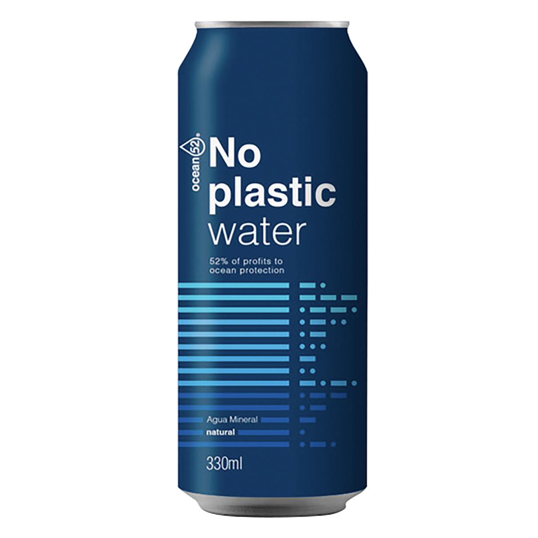 El agua enlatada llega a España ¿adiós a las botellas de plástico?