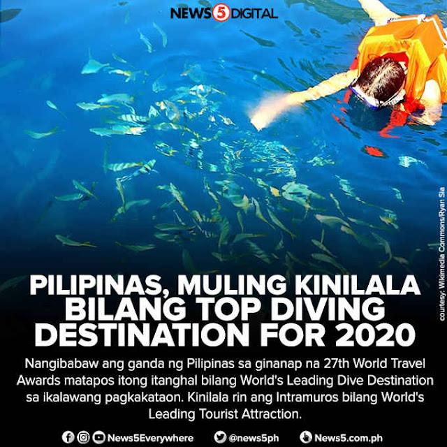 top diving destination