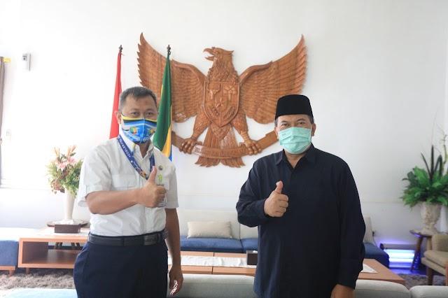 """Oded Dukung PT Angkasa Pura 2 Terapkan """"Safe Travel"""" dan Pastikan Bandara Husein Aman, Nyaman Dan Sehat"""