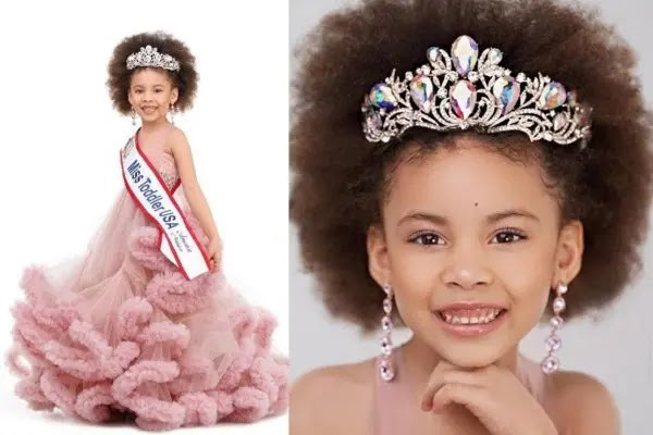 Kleopatra Vargas: Meet beautiful Nigerian girl who won Miss Toddler USA 2021
