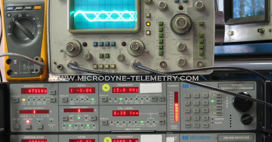 Microdyne 700-WB Telemetry Receiver
