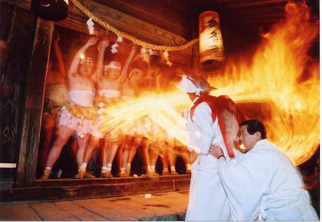 Hiyondori (Fire Dance Festival), Hamamatsu, Shizuoka