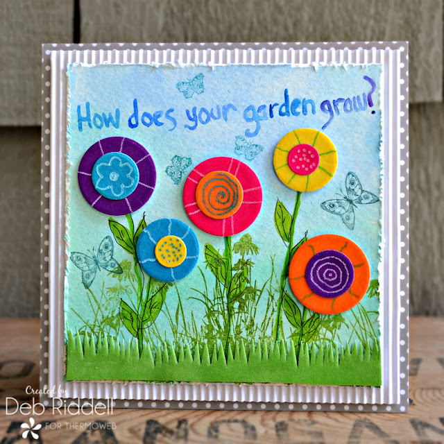How Does Your Garden Grow Mixed Media Plaque