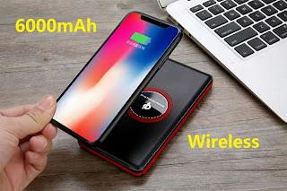 caricatore power bank wireless 6000mah on tenck ingrosso