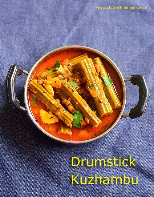 Drumstick kuzhambu recipe