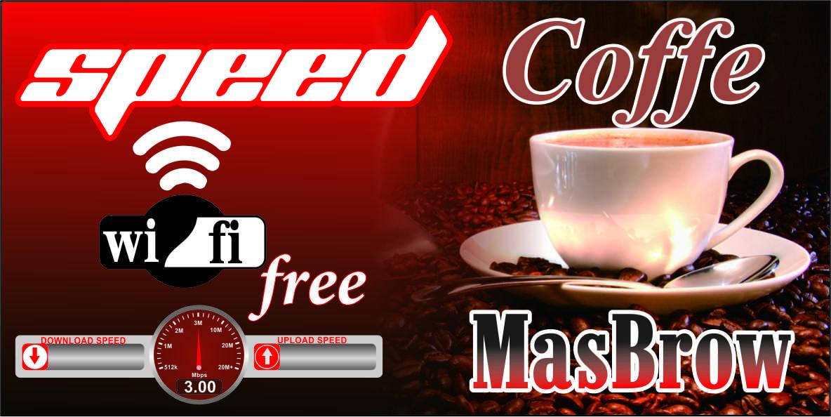 Sample Banner Warung Kopi Speed Coffe