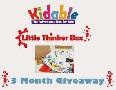 Kidable Adventures Little Thinker Box Review
