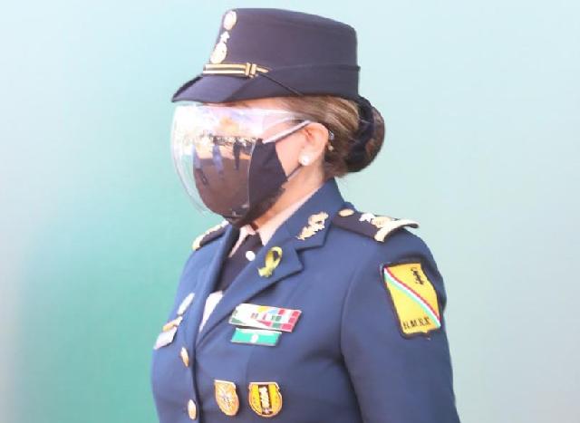 La General Brigadier Médico Cirujano, Luz Patricia Gutiérrez Díaz, nueva directora del Hospital Militar Regional de Especialidades de Mérida